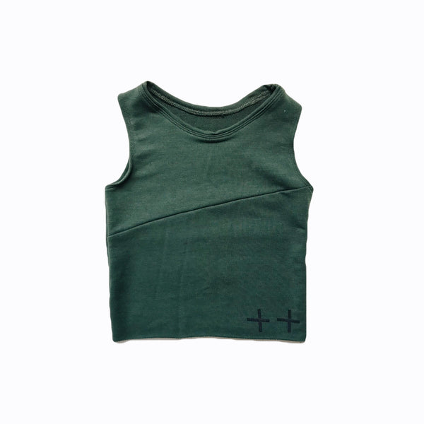 sliced tank in juniper