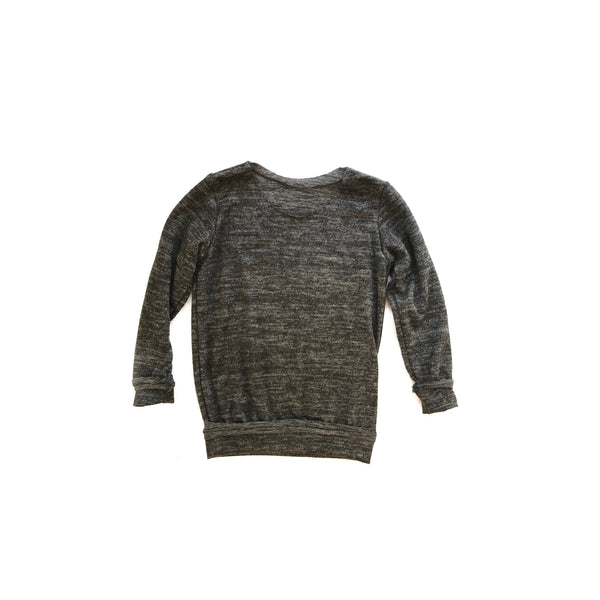 Heathered Charcoal Pullover