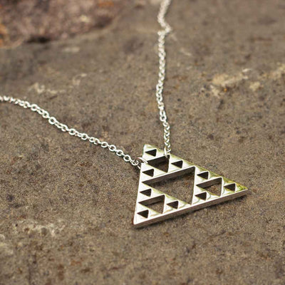 Sierpinski Triangle Necklace