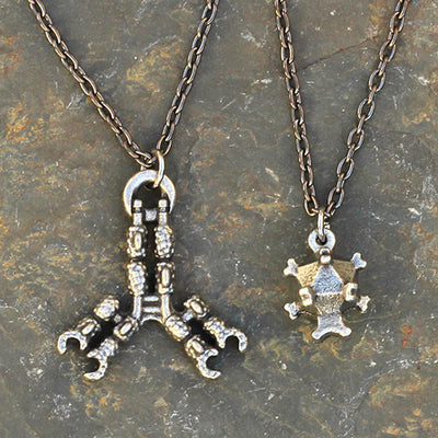 Antibody and Virus Necklace