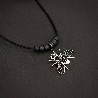 Drosophila Fruit Fly Necklace