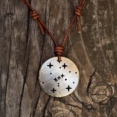 Orion Constellation Necklace - astronomy and space science jewelry. Great gift for an astronomy student or teacher.