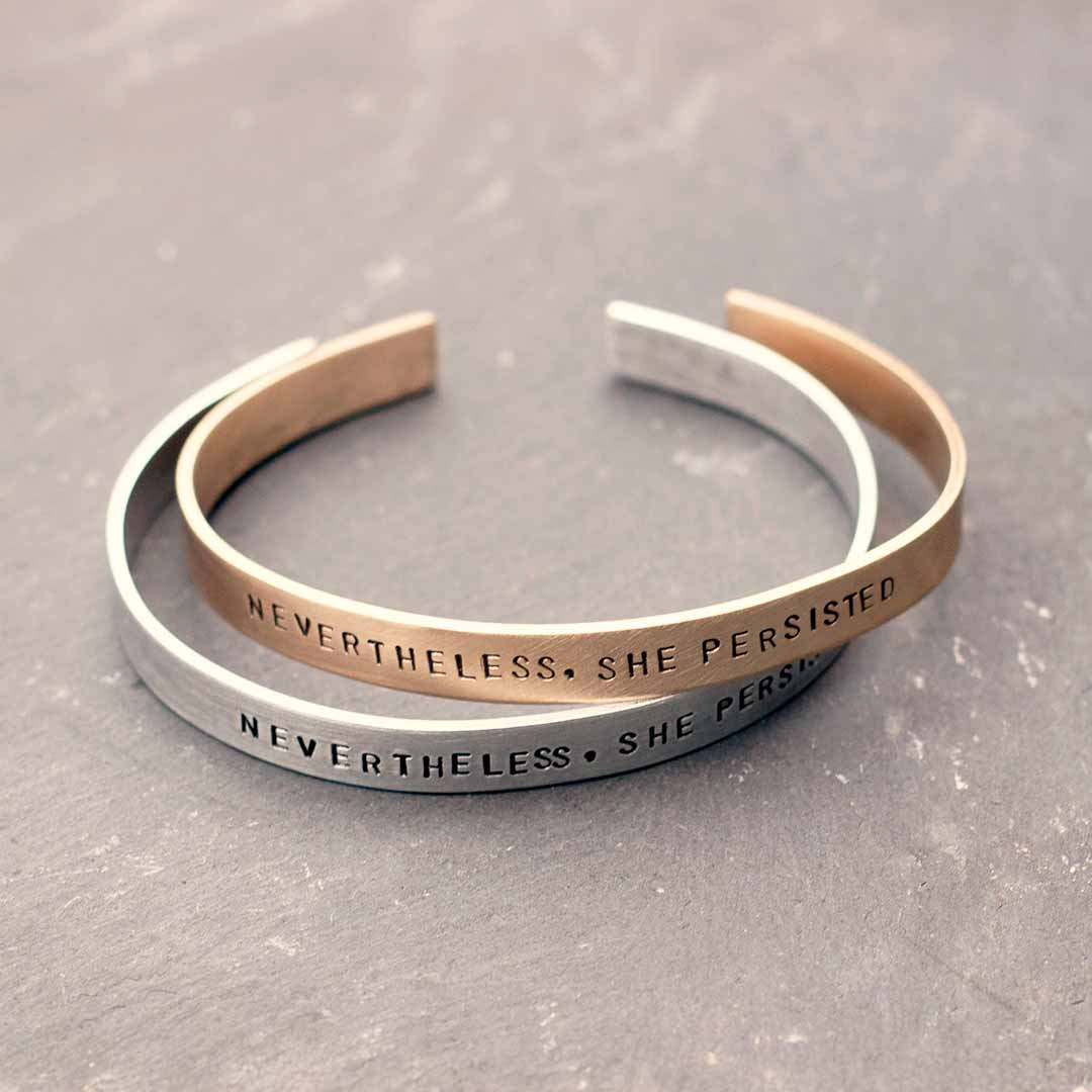 Nevertheless She Persisted Bracelet Boutique Academia