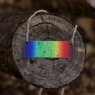 Solar Spectrum Bar Necklace