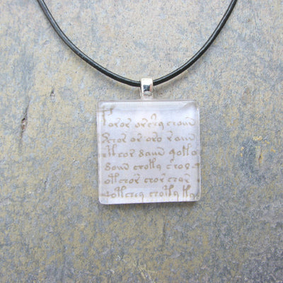 Voynich Manuscript Necklace