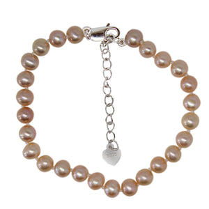 PEARL BRACELET - Near Round Shaped - Small & Large