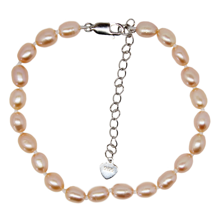 PEARL BRACELET - Drop Shaped - Small & Large