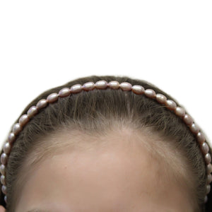 Luxelu London Collection : Drop Pearl Headband