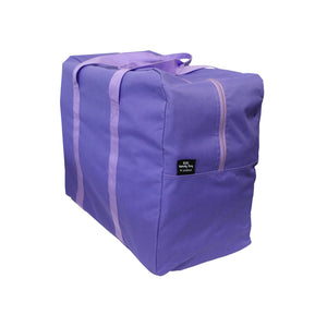 Purple storage bag laundry bag