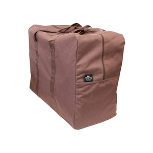 Brown storage bag laundry bag