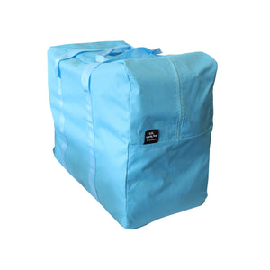 Blue storage bag laundry bag