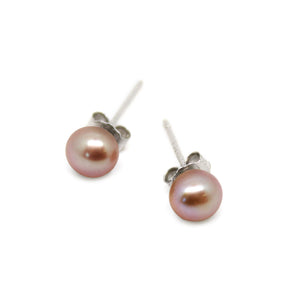Luxelu London Collection : Mignon Pearl Stud Earrings