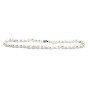 Luxelu London Collection : Classic Drop Pearl Necklace