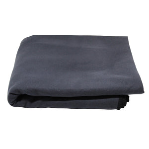Grey Extra large microfibre towel