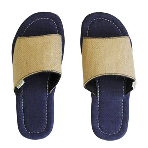 Paaduks Cypress Mens Jute Sandals with Upcycled Tyre Soles - Stylish Summer Mules for Men