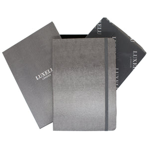 Grey A6 Luxury Notebook