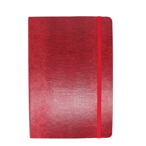 Red A5 Luxury Notebook