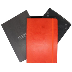 Orange A6 Luxury Notebook