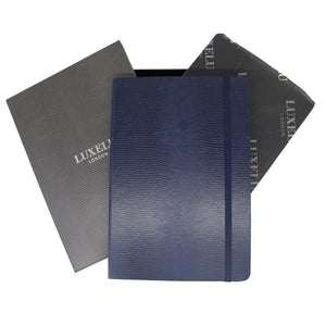 Blue A6 Luxury Notebook