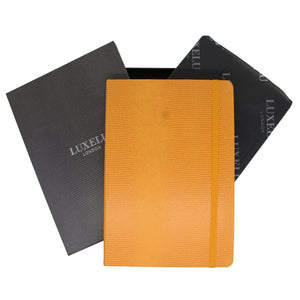 Yellow A6 Luxury Notebook
