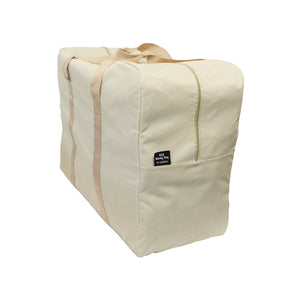 Beige storage bag laundry bag