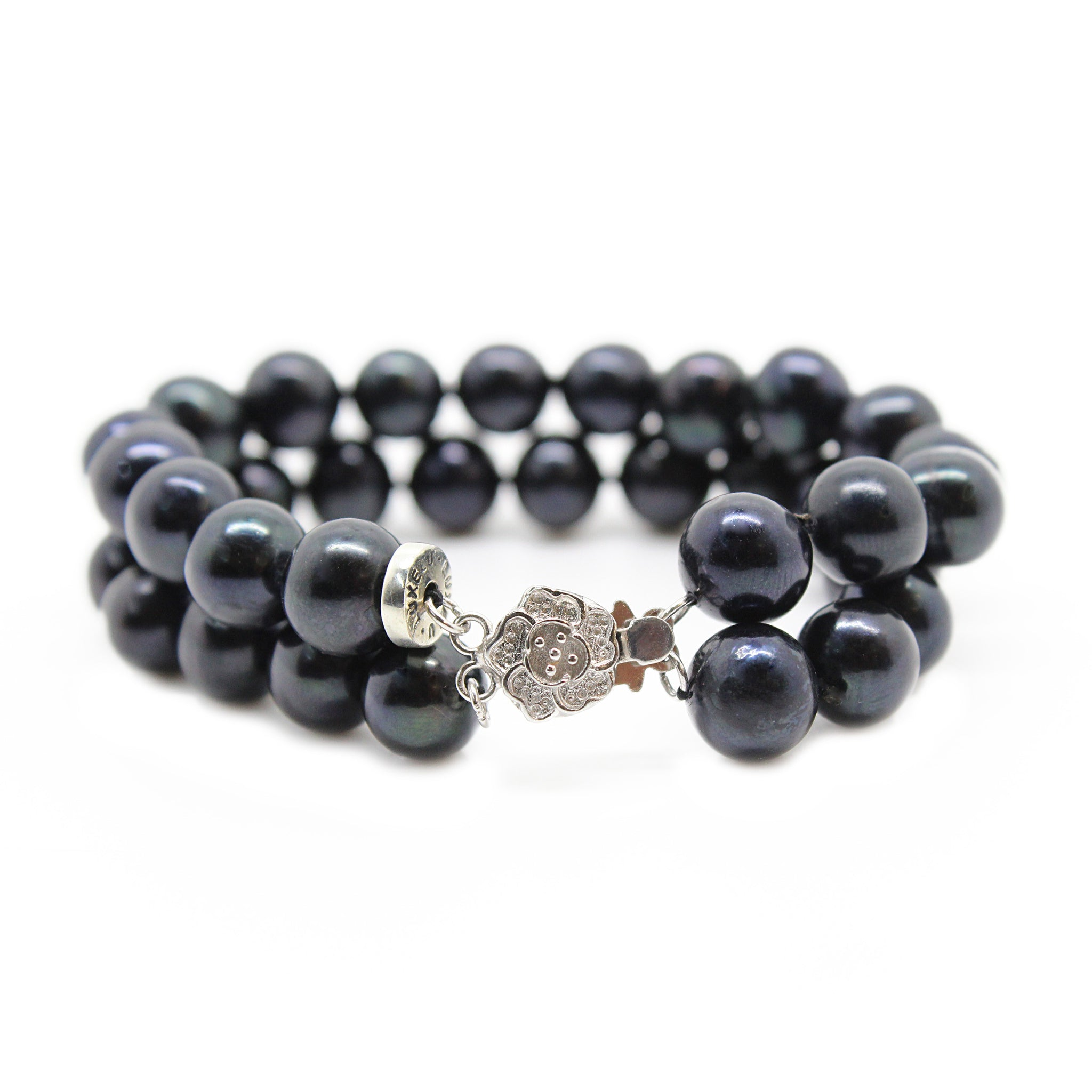 Luxelu Black Pearl Collection : Women's Bracelet