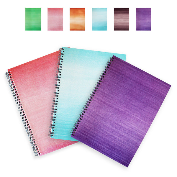 Lexy Notes : A4 Softback Notebook : 3 Pack