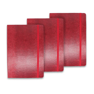 Signature Collection : Luxury Notebook Carmine Red