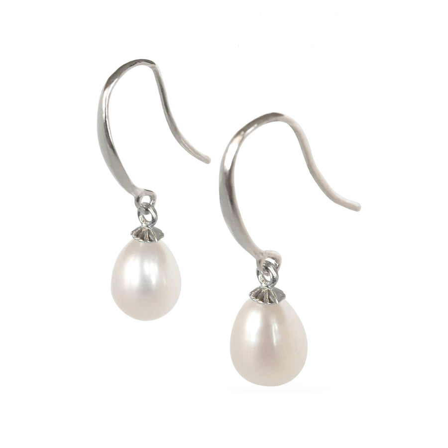 Luxelu London Collection : Mignon Drop Pearl Earrings