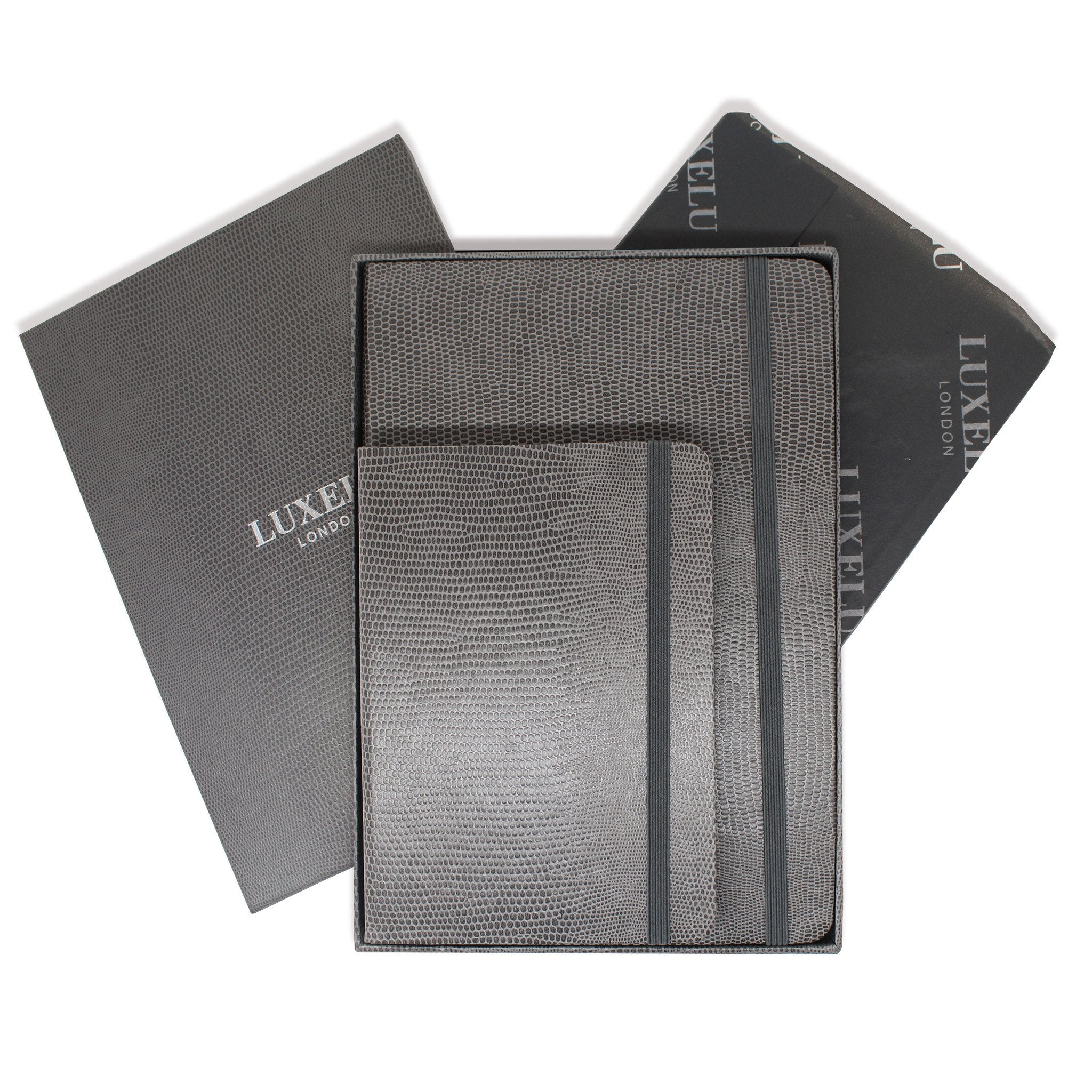 Signature Collection : Luxury Notebook Graphite Grey