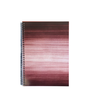 Black A4 Hardback Notebook - Lined, Spiral Bound