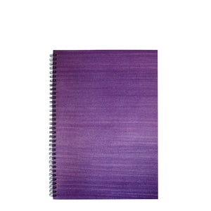 Lexy Notes : A4 Notebook Punchy Purple