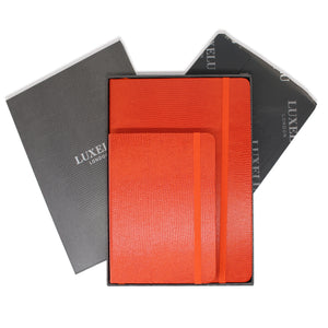 Orange A5 & A6 Luxury Notebooks