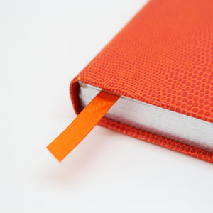 Signature Collection : Luxury Notebook Lava Orange