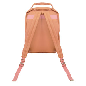 Salmon Luxe Laptop Backpack