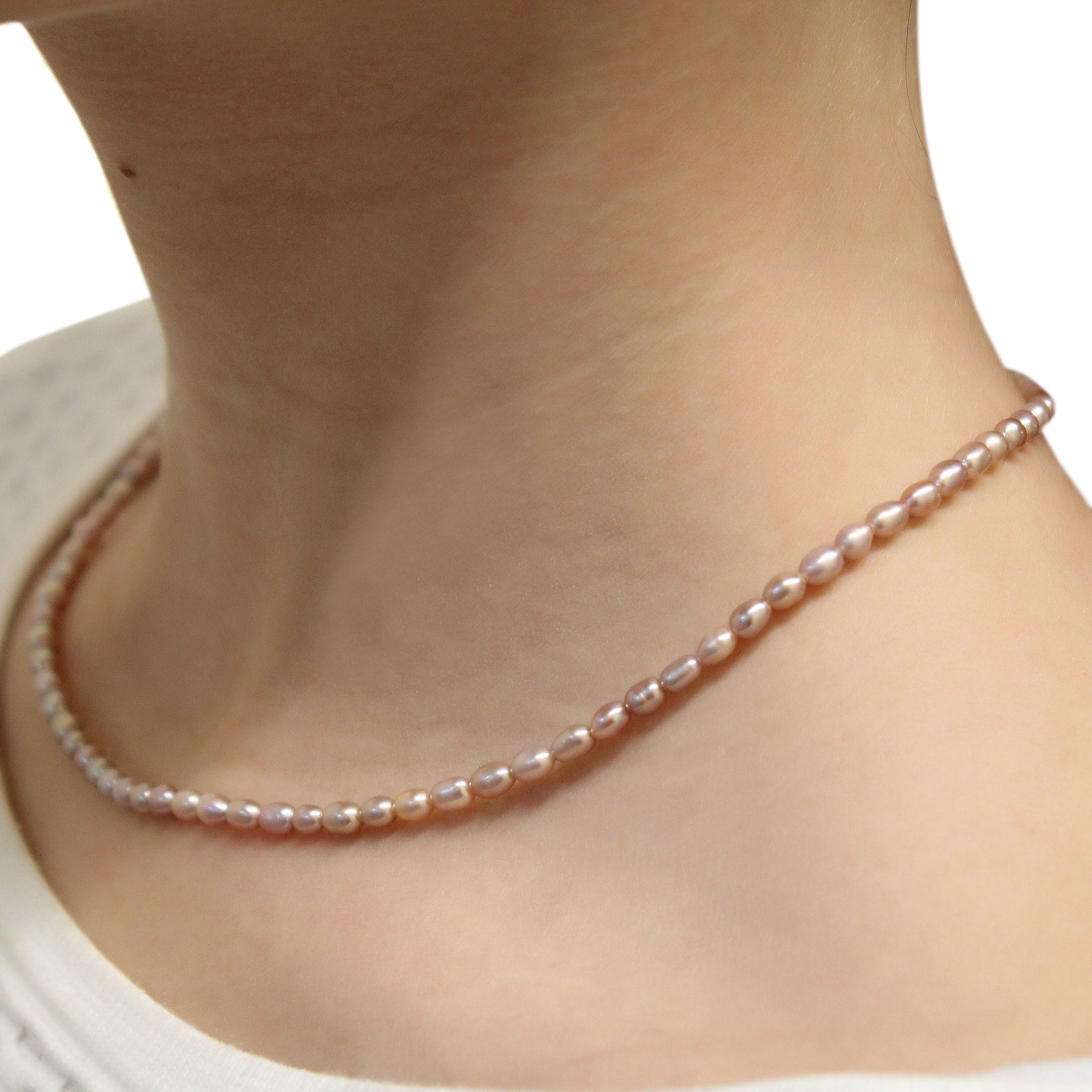 TINY PEARLS - Pearl Necklace for Girls nakynAo9