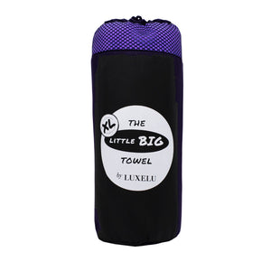 Purple Extra large microfibre towel