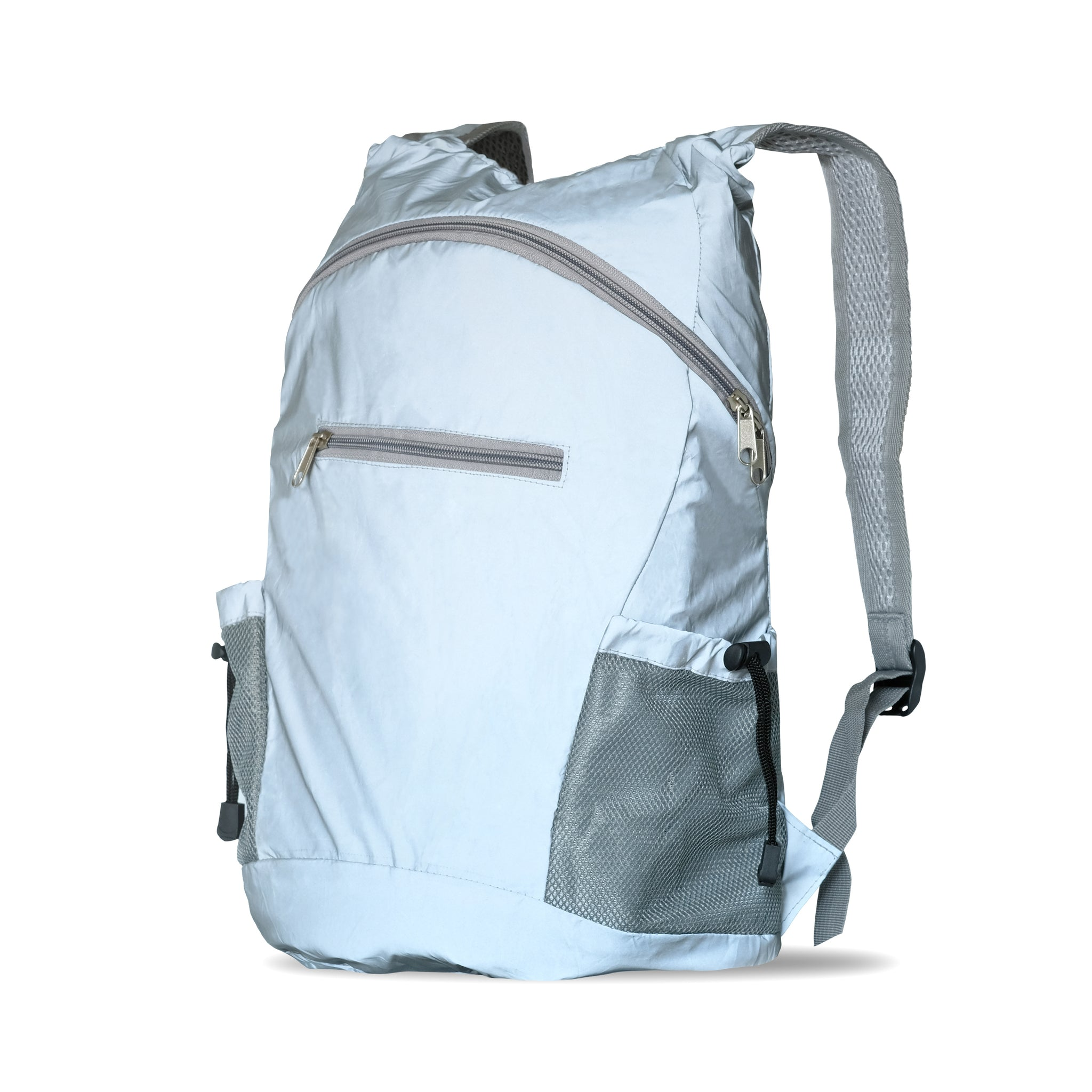 Reflective Cycling Backpack Bag High Visibility Silver