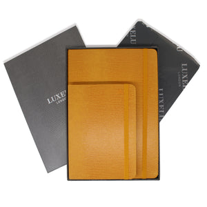 Yellow A5 & A6 Luxury Notebooks