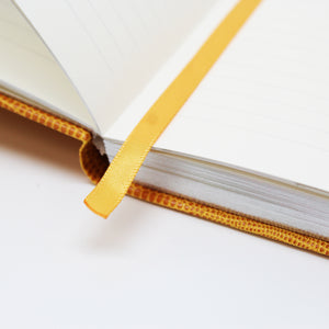 Signature Collection : Luxury Notebook Mustard Yellow