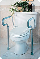 Toilet Safety Frame 250 lbs.