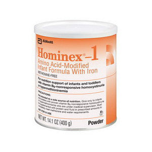 Hominex 1 Amino Acid-Modified Infant Formula with Iron 14.1 oz. (400 gram) Can