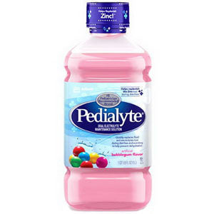 Pedialyte Ready-To-Feed, Retail 1 L Bottle, Bubble Gum