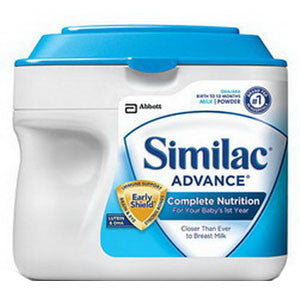 Similac Advance OptiGRO 2 oz. Plastic Bottle