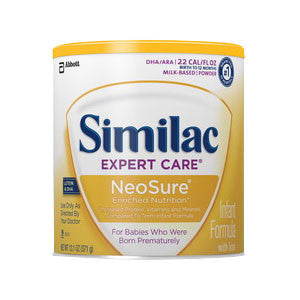 Similac Expert Care NeoSure Infant Formula with Iron, 2 oz.