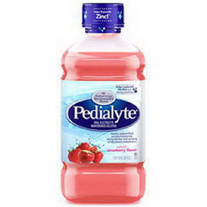 Pedialyte Unflavored 2 oz. Bottle, Institutional