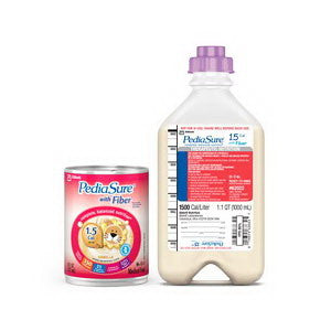 PediaSure 1.5 CAL with Fiber, Ready to Hang, Safety Screw Connector, 1,000 mL, Institutional