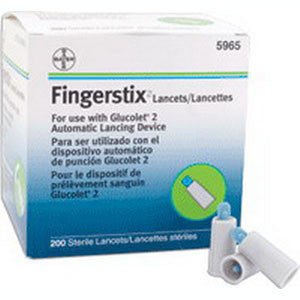 ASCENSIA DIABETES CARE US INC. Fingerstix Lancet 23G (200 count) - Crescent Medical Supply