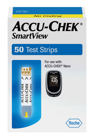 ACCU-CHEK SmartView Retail Test Strip (50 count)