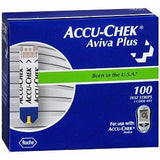 ACCU-CHEK Aviva Plus Test Strip (100 count)